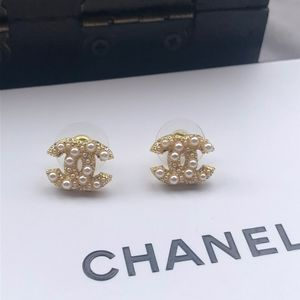 Chanel Pearl Studs